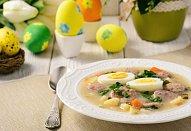 Polský velikonoční bílý boršč