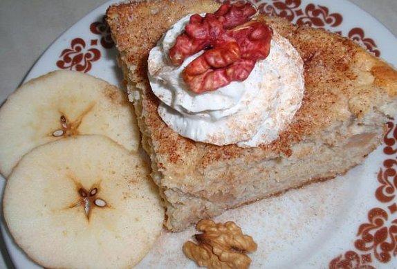 Jablečný (ovocný) nákyp z ovesných vloček