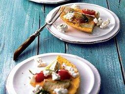 Omeleta s topinambury