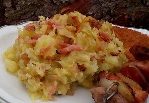Šťouchané brambory nejen s kapustou