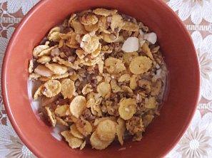 Ovesné vločky (zdravá snídaně)