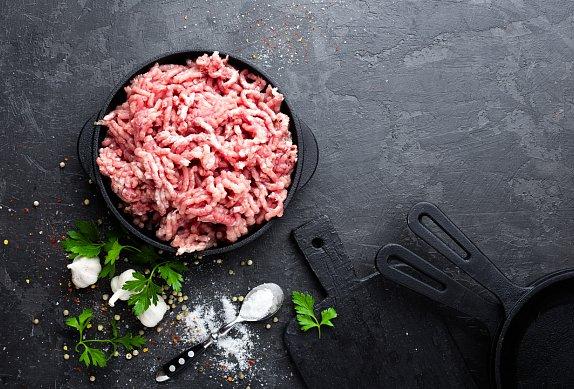 Mleté maso na smetaně se sýrem