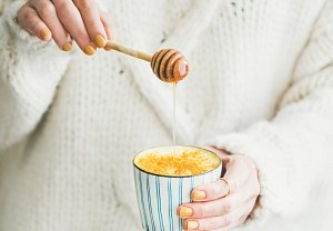 Golden milk neboli Turmeric latte