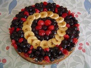 Osvěžující ovocný dort
