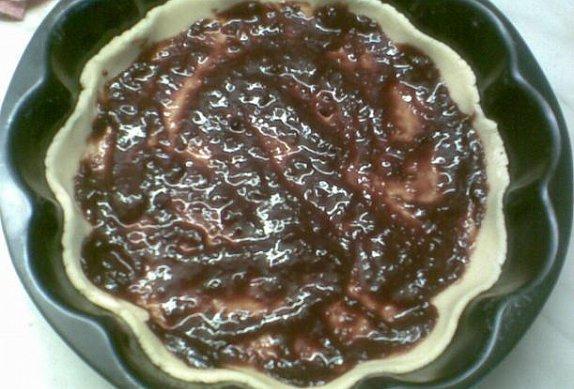 Double švestkový koláč