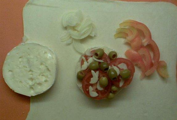 Hermelínové ranečky se zeleninou