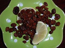 Citronové rozinky - zdravě a chutně