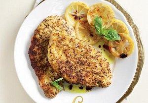 Citronový kuřecí řízek z Ameriky