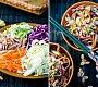 Asijský zelný salát s kuřetem