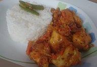 Domácí kuřecí čína