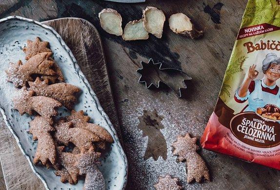 Zázvorové špaldové sušenky photo-0