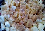 Knedlíky s dušenými jablíčky / hruškami