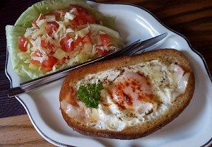 Volské oko v chlebu