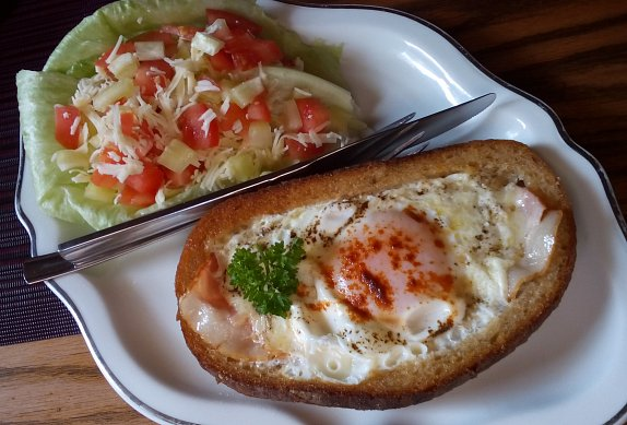 Volské oko v chlebu photo-0