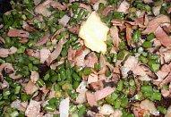 Bylinkové česnekové výhonky