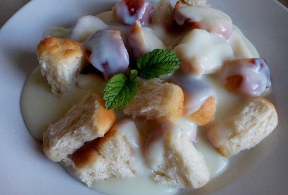 Dukátové buchtičky z remosky s vanilkovým krémem