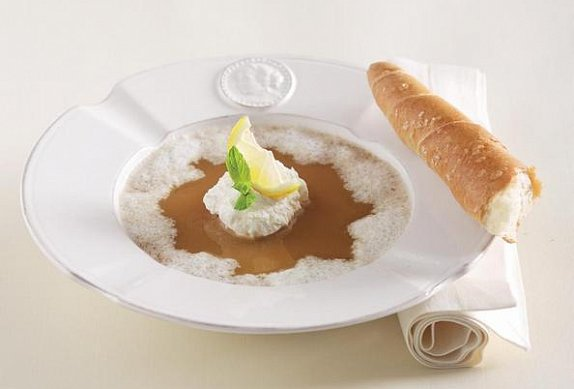 Žloutková polévka s pivem photo-0