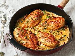 Kuře ve smetanové omáčce s parmazánem