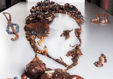 Jídlo jako umění? Dvojice tvoří portréty slavných ze sladkých dezertů!
