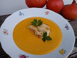 Dýňová krémová polévka s Paloučkem