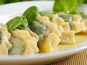 Pirohy se špenátem a sýrem feta