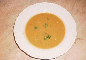 Mrkvová polévka I.
