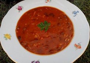 Rajská polévka (nejen) s fazolemi