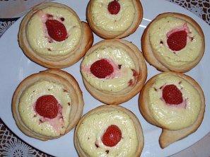 Kynuté máslové koláčky