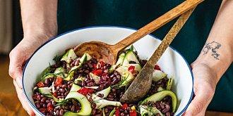 Fazolový salát s cuketou