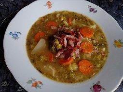 Brokolicová polévka (nejen) se slaninou