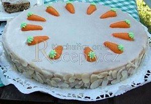 Mrkvový dort s mandlemi