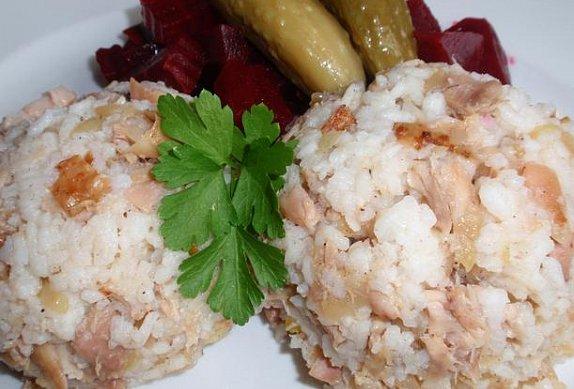 Pečené kuře s rýží