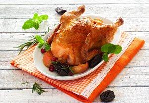 Kuře s nádivkou podle Zdeňka Pohlreicha