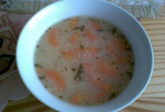 Kuřecí polévka s kapáním