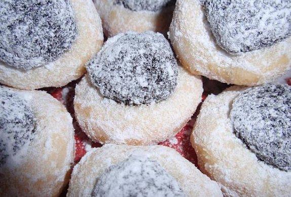 Cukrové koláčky nebo šátečky