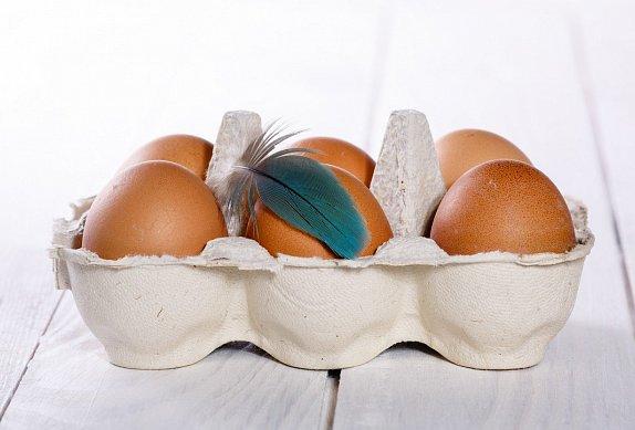 Koprová omáčka se ztraceným vejcem