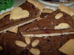 Linecký koláč mlsné Ivy