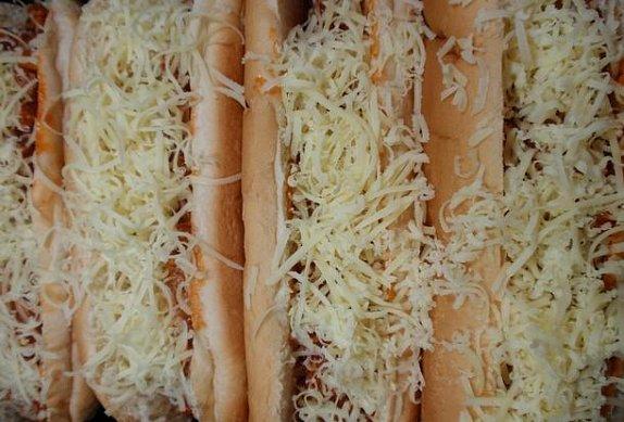 """""""Sloppy Joes"""" - zapečený sendvič"""