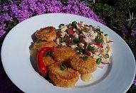Bramborovo-ředkvičkový salát