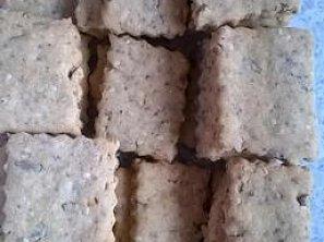 Vločmínkové sýrušenky (Vločkovo-semínkové sýrové sušenky)