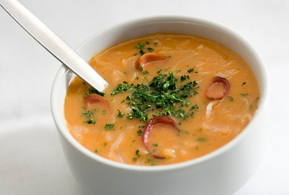 Frankfurtská polévka - smetanová