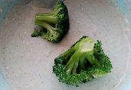 Brokolice / květák v těstíčku s Nivou