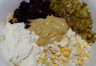 Bramborový salát s řepou
