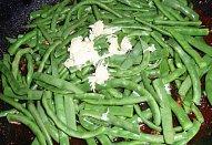 Přírodní plátek s fazolkami