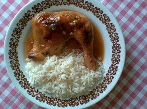Kuře v pivní omáčce