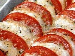 Zapečená rajčata s mozzarellou