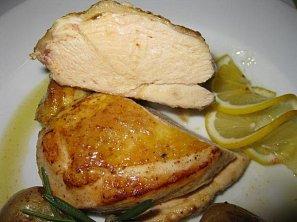 České kuře pečené