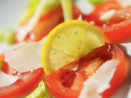 Rajčatové carpaccio