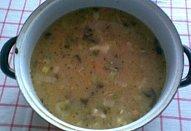 Bramborová polévka zimní