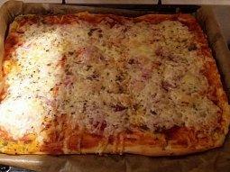 Italské těsto a výborná pizza
